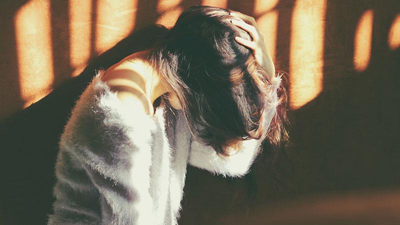 احساس غم و ناراحتی